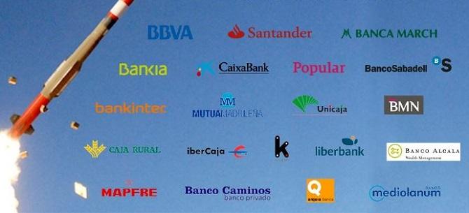 BBVA y Banco Santander encabezan la lista de la Banca Armada española