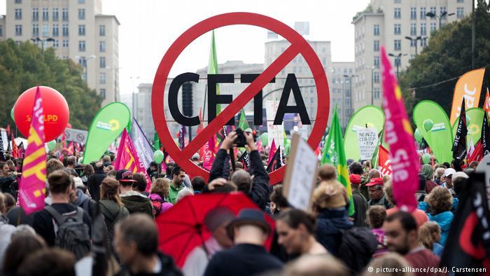 Parar y desmantelar el tratado con Canadá (CETA)