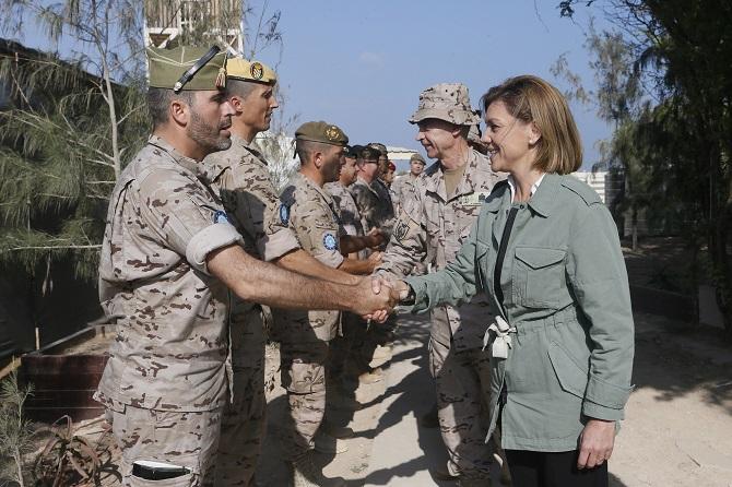 El gasto militar español oculto en los presupuestos asciende a 33.762,4 millones