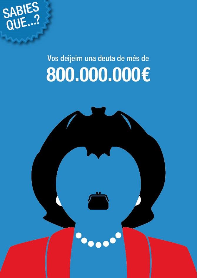 ¿Sabes qué deuda deja Rita Barberá en Valencia?