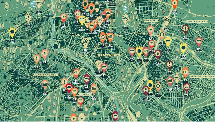 Los Madriles: el mapa de iniciativas ciudadanas